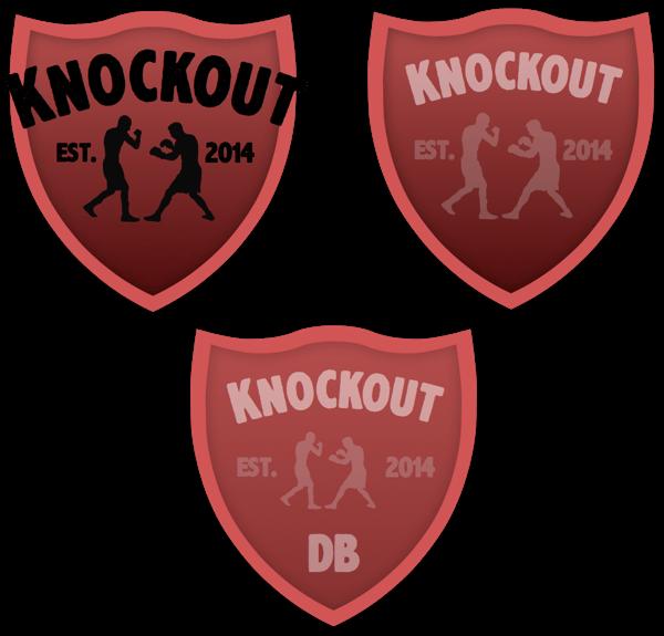 3 versions of knockoutDB logo